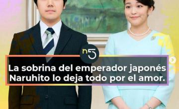 La sobrina del emperador japonés Naruhito lo deja todo por el amor