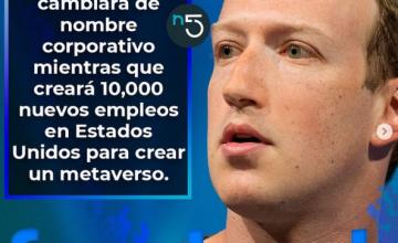 Facebook cambiará de nombre corporativo